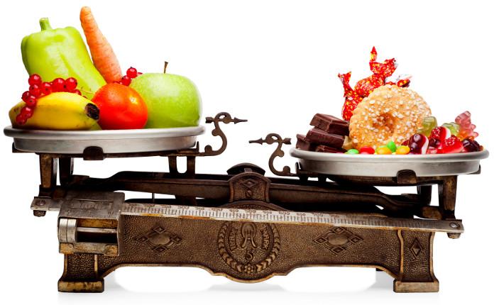 Высококалорийная нездоровая пища
