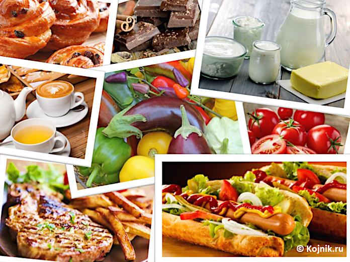 Нездоровая еда приводит к проблемам с кишечником