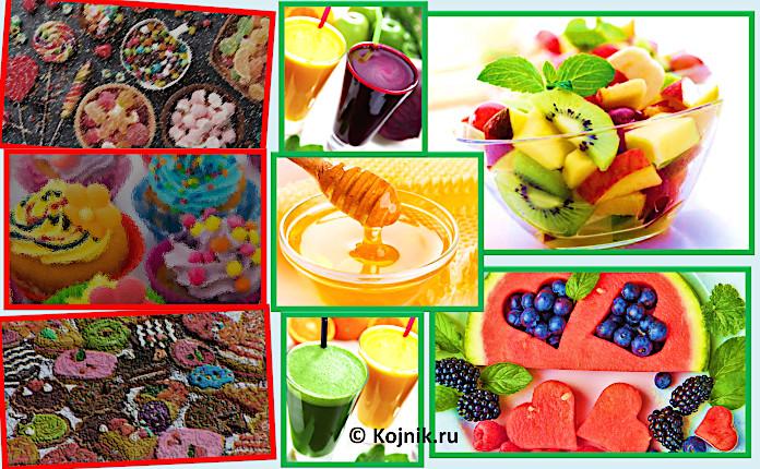 Сладкое: откажитесь от сахара и замените натуральными сладостями