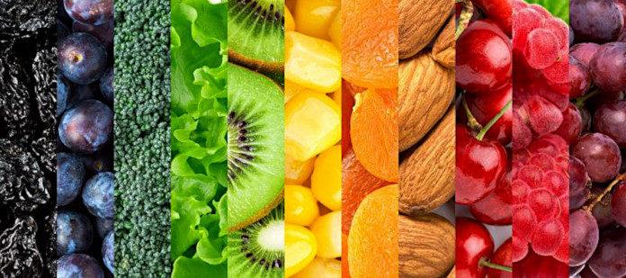 Фрукты и овощи – основа диеты Пегано