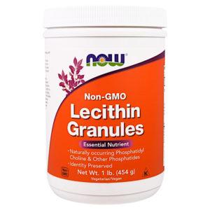 Лецитин в гранулах – важная часть диеты Пегано