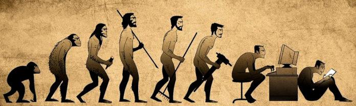 Эволюция человека: от обезьяны к планшету