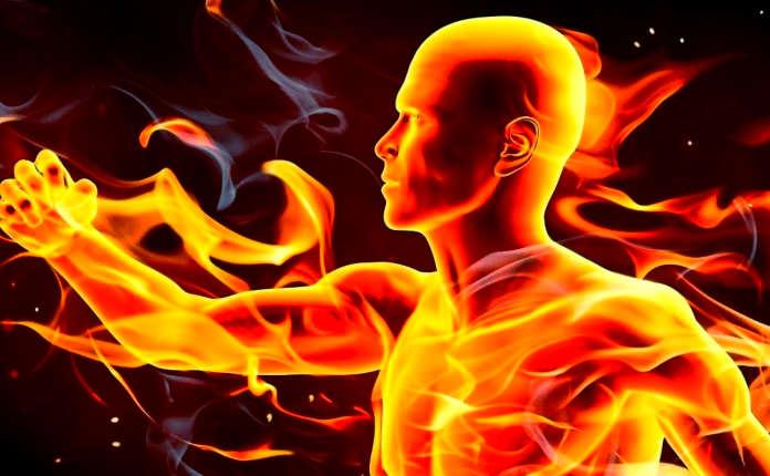 Тело человека в огне системного воспаления