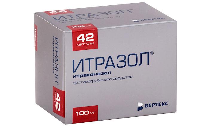 Итраконазол — противогрибковое средство в капсулах
